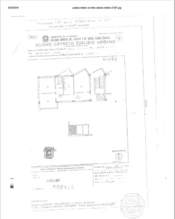 ZONA SAN SIRO/ LOTTO – TRILOCALE IN VIA MARTINO BASSI – RIF AGENZIA: 8510M